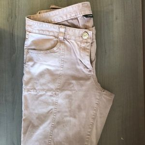 Mauve jcrew military style pants